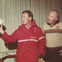 Switzer_gives_game_ball_to_the_pride_1983