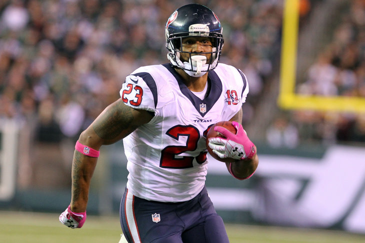 RB Arian Foster