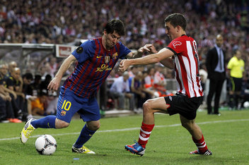 Liga Spanyol Xtra Time  - Hasil Pertandingan La Liga: Athletic Bilbao 2 vs 2 Barcelona