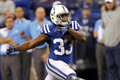 Colts Running Back Position Not a Huge Concern