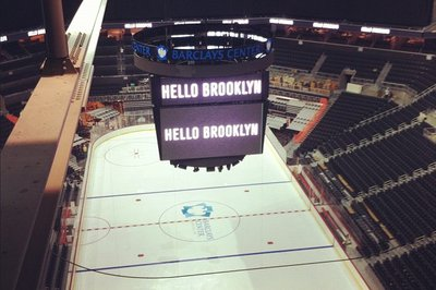 Barclays Center releases images of arena hockey layout, part of campaign to calm Islander fans ... It's not working photo
