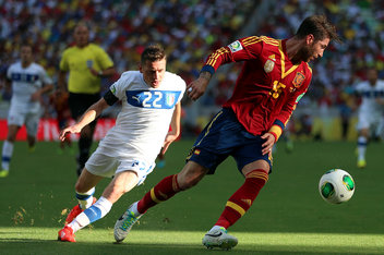 Spain vs. Italy, 2013 Confederations Cup: Halftime score 0-0, Azzurri looking ...