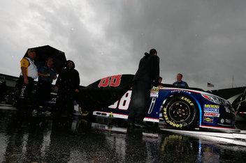 NASCAR race at Kentucky postponed until noon Sunday