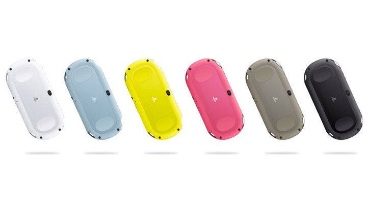 The Playstation Redesign Vita Colors.