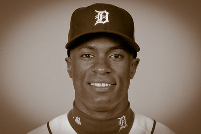 Detroit Tigers 2013 Yearbook: Austin Jackson