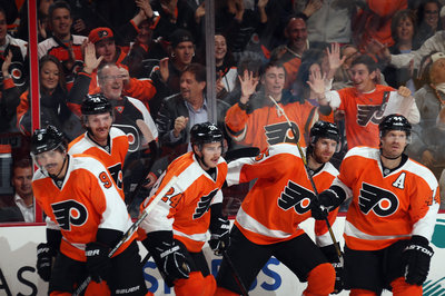 Flyers vs. Sabres recap: Hey, look, that's points in six straight games now...