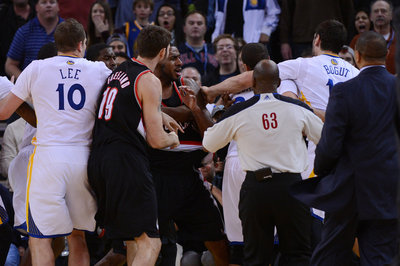 Bogut suspended; player reactions; Jermaine O'Neal back?