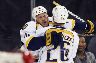 Nashville Predators 4, New York Rangers 1: Paul Gaustad, Rich Clune & Matt Hendricks Lead Offensive Outburst