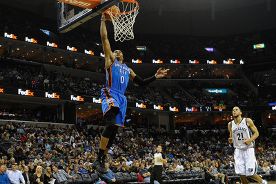 Westbrook, Thunder Pound Grizzlies 116-100.