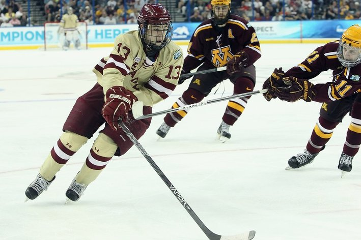 NCAA: Does Size Matter? College Hockey's 'little Guys' Have An Uphill Battle