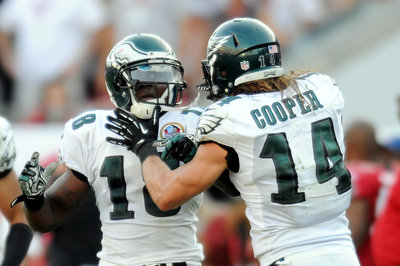 Riley Cooper and Jeremy Maclin