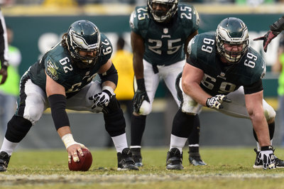 Evan Mathis and Jason Kelce