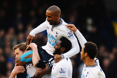 Jermain Defoe leaves White Hart Lane for final time on shoulders of teammates