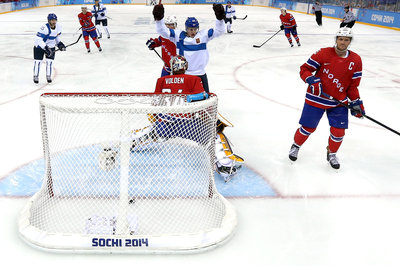 Friday's Olympic ice hockey report: Korpikoski finds his scoring touch