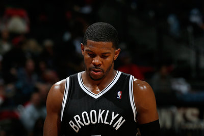 Joe Johnson is a game-time decision against the Celtics tonight