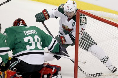 Ruff: Kari Lehtonen Not Doing Well Sunday After Erik Haula Collision