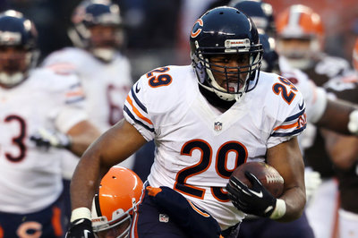 Bears Cut RB Michael Bush; Attempting to Trade DE Julius Peppers