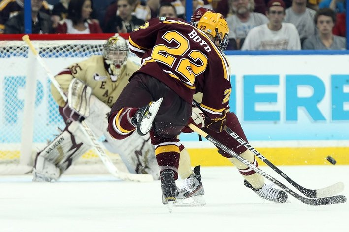 Holiday Hockey Begins With NCAA 2012 Mariucci Classic & World Junior Tournament