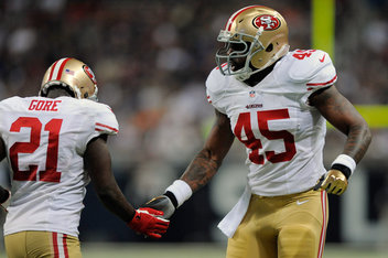 Brandon Jacobs News, Stats, Photos | San Francisco 49ers