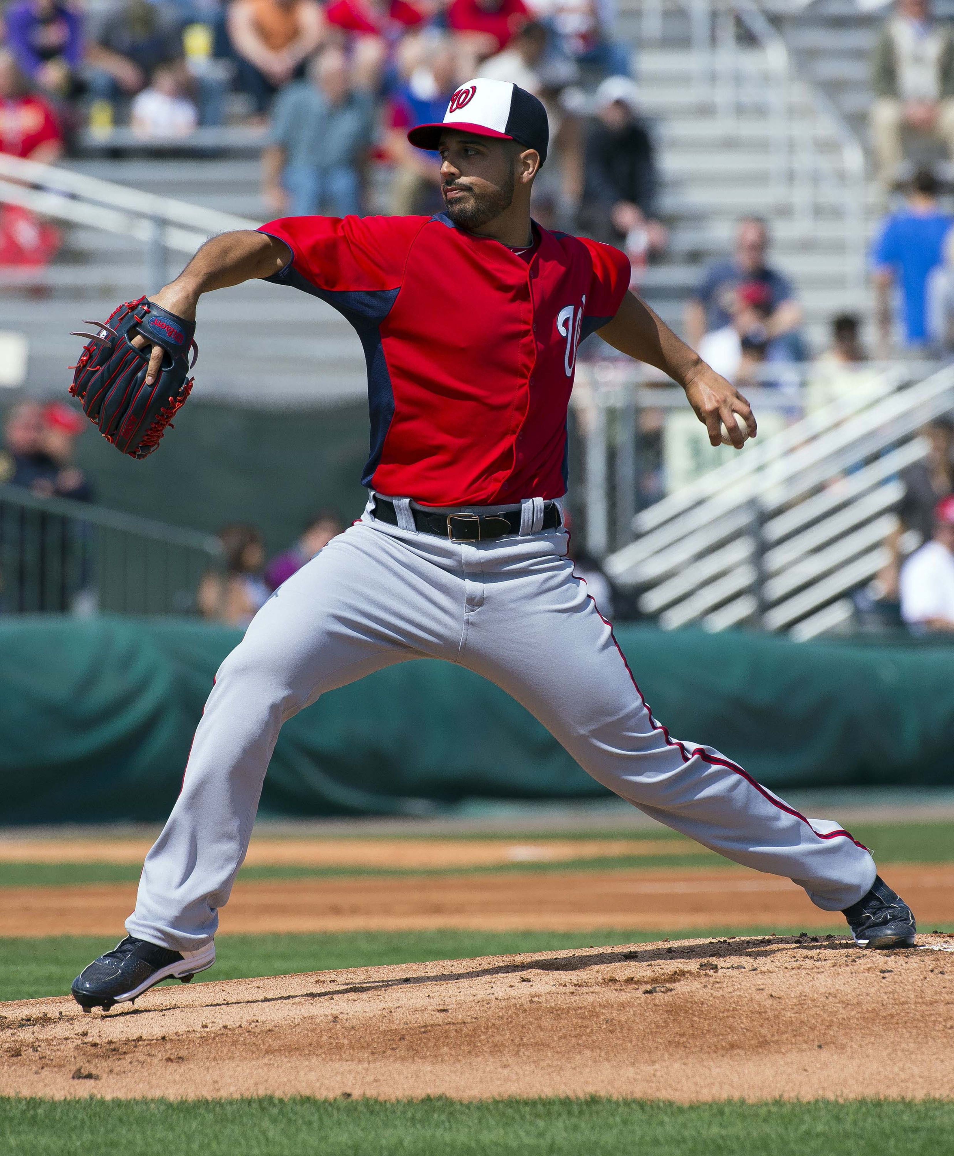 Nats' lefty Gio Gonzalez talked to reporters Monday about starting in the WBC