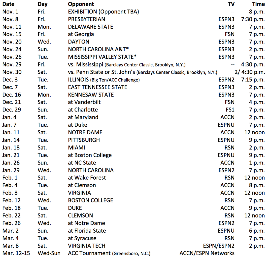 jackets final basketball schedule released from the rumble seat