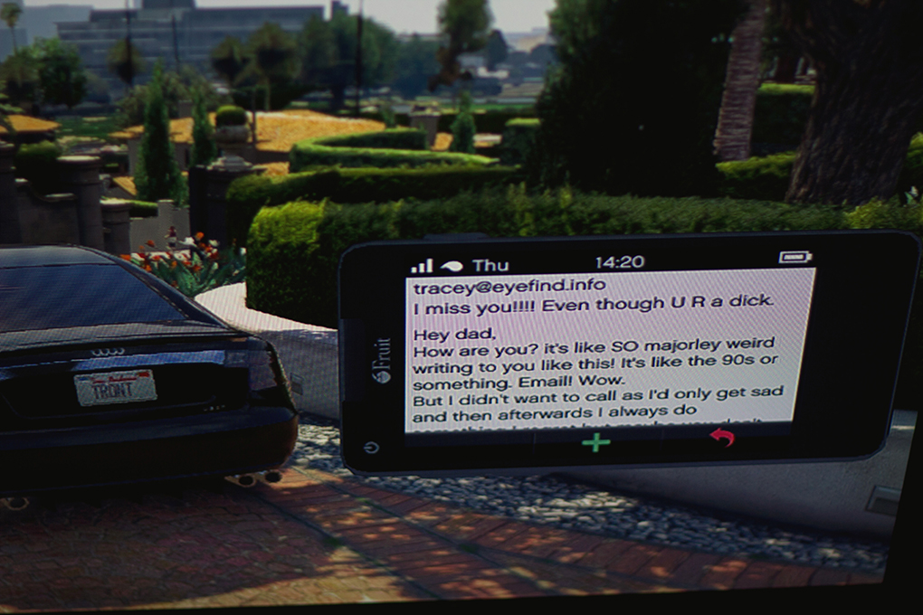 Is it real, or is it 'GTA V'? A trippy travelogue on the