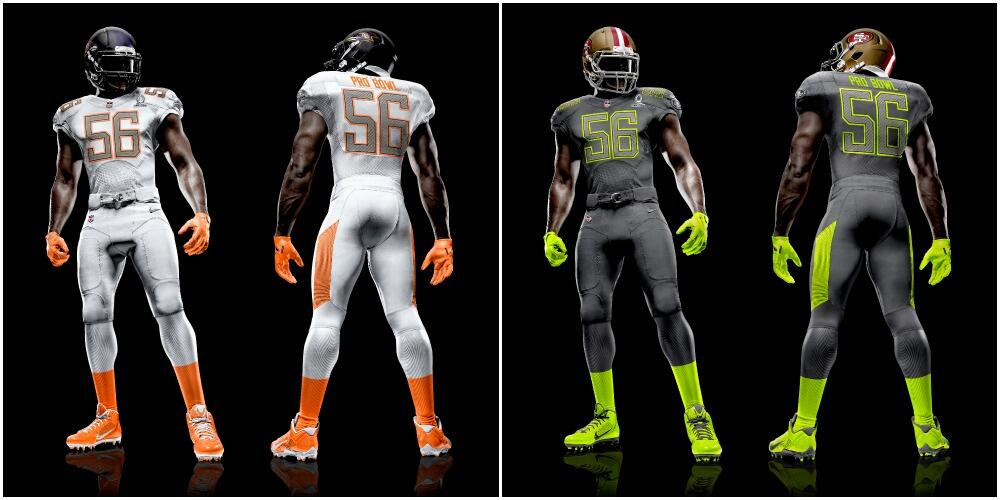 95228647e NFL Pro Bowl 2014 jerseys  Uniforms spiced up for revamped Pro Bowl ...