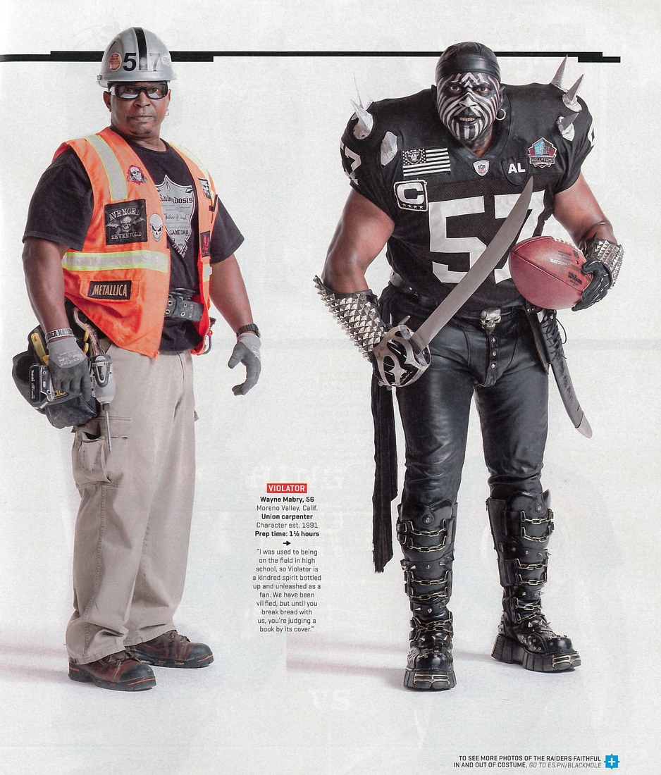 5677ed01 Raider Nation revealed: Looking beyond the costumes - Silver And ...