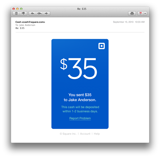 Square Cash lets anyone with a debit card send money instantly over