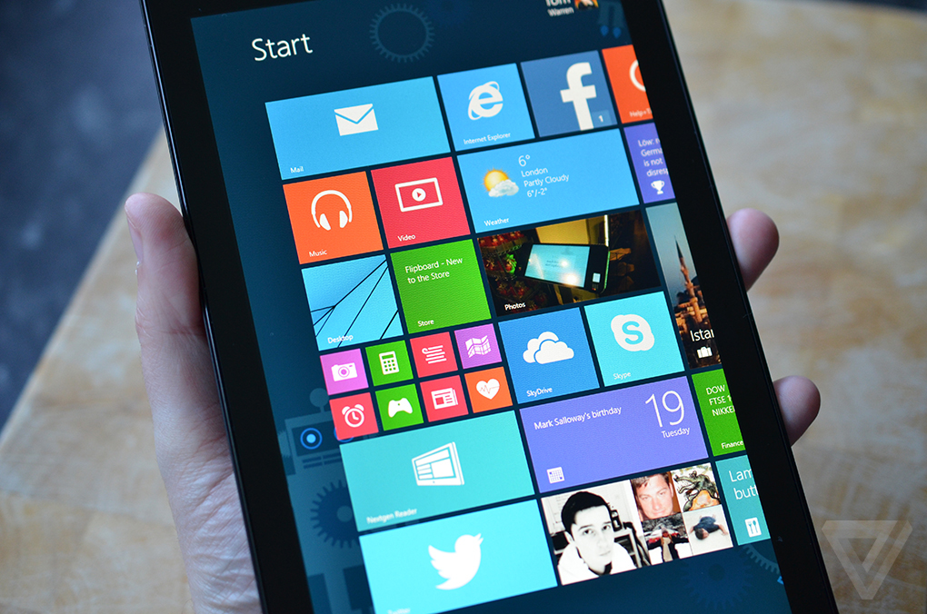 Dell Venue 8 Pro review | The Verge