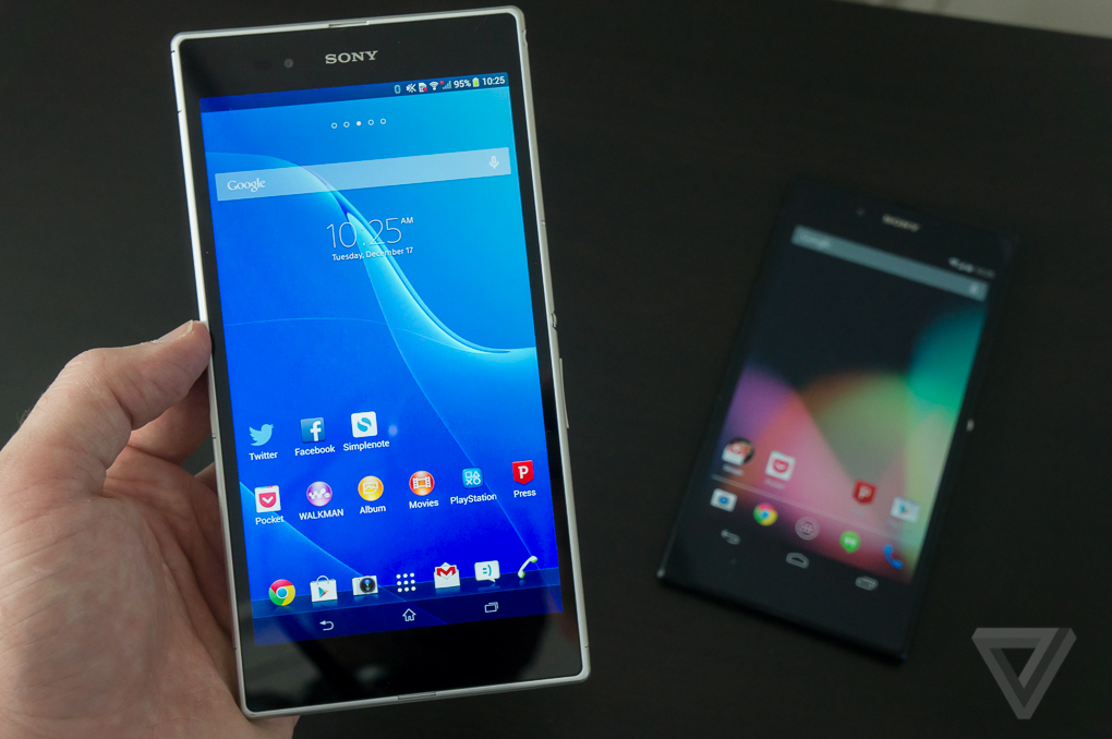 promo code 205eb 0d66a Sony Xperia Z Ultra and Z Ultra Google Play Edition review | The Verge