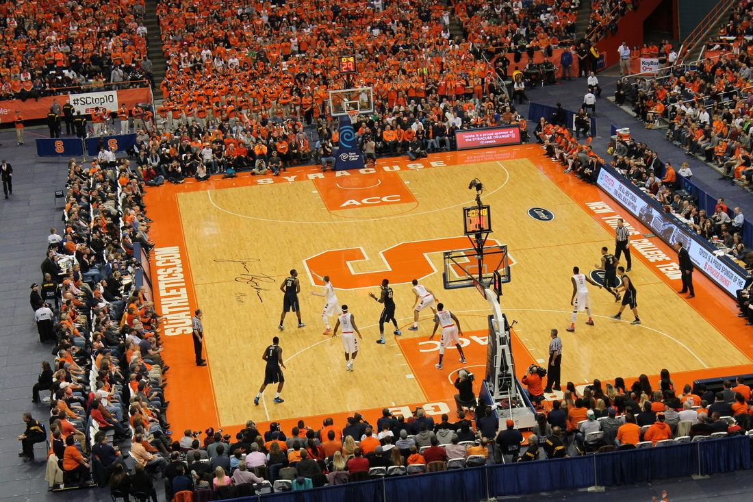 Su Basketball Dome Is A Weird But Fitting Home Troy Nunes Is An