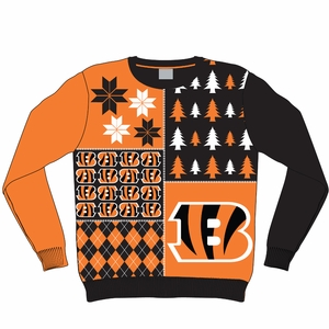 76a56e61 How About Ugly Bengals Sweaters - Cincy Jungle