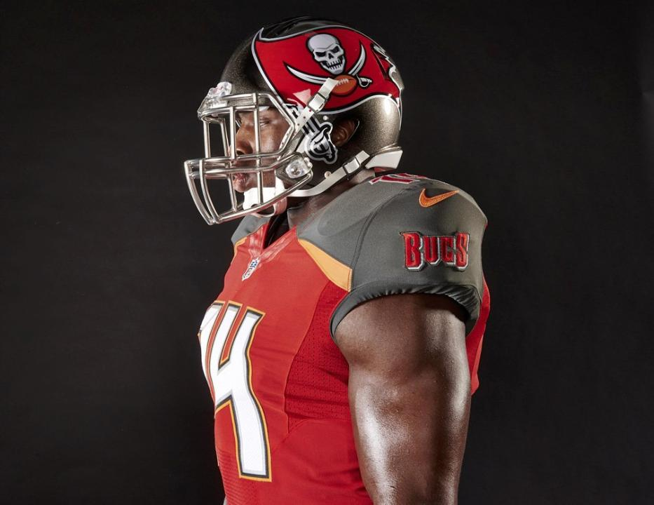 2014 NFL uniform changes  Bucs unveil home jersey - Bucs Nation 8a92bfefdf1