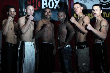 Weigh-Ins From Vegas For ShoBox: The New Generation