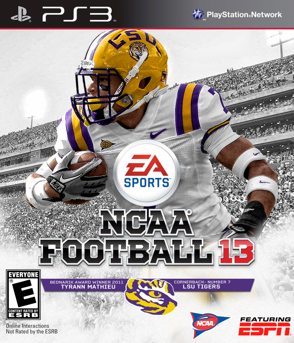 Lsu Ncaa 13 Covers Honey Badger Galore And The Valley Shook