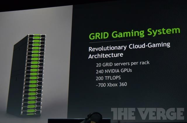 Nvidia rebrands GeForce Grid, shows off server hardware and