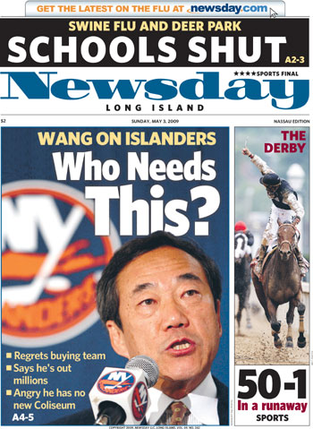 LHinks: Reactions to Wang's 'regret' - Lighthouse Hockey