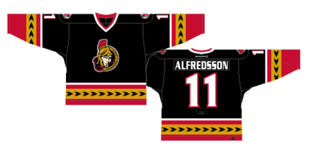 brand new f61e1 43c6a Guest Post: Worst to First Jerseys, Ottawa Senators - Silver ...