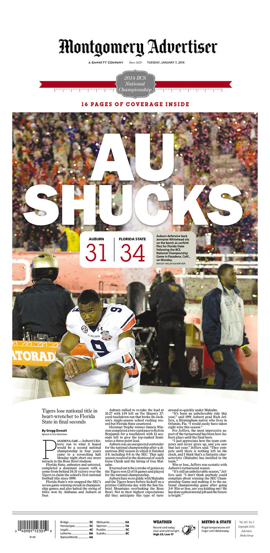The Florida and Alabama newspaper headlines inspired by