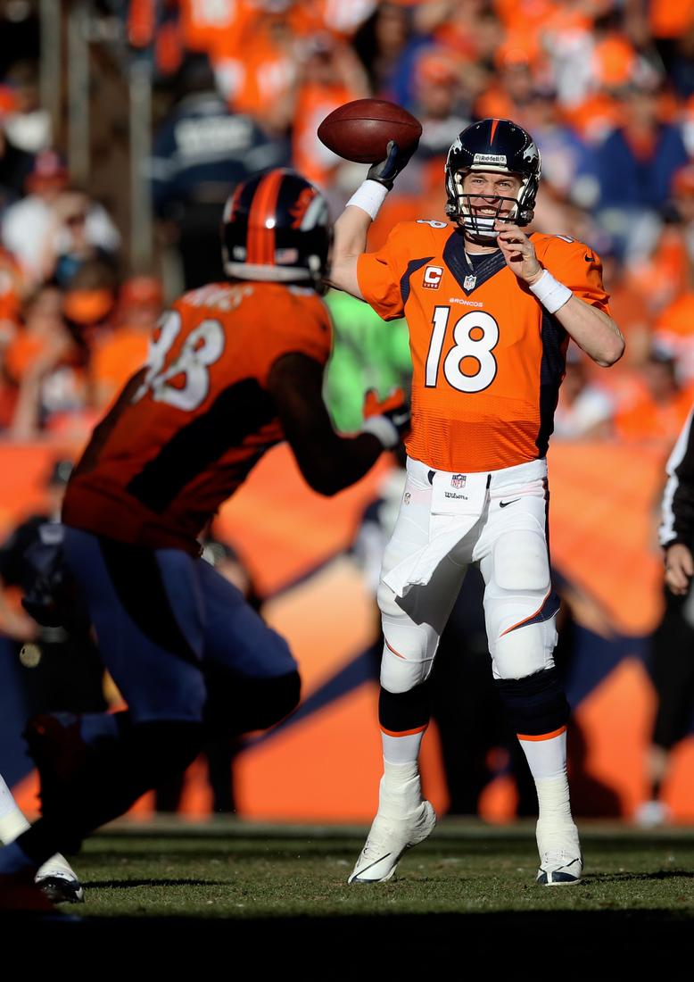 Super Bowl 2014 Home Team Broncos Will Wear Orange Jerseys