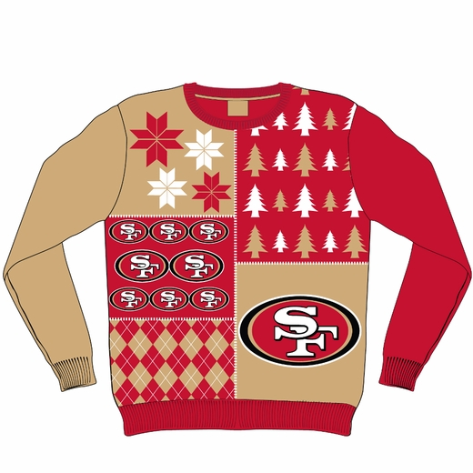 new style 6a9a2 e100f Get your San Francisco 49ers ugly Christmas sweater ...