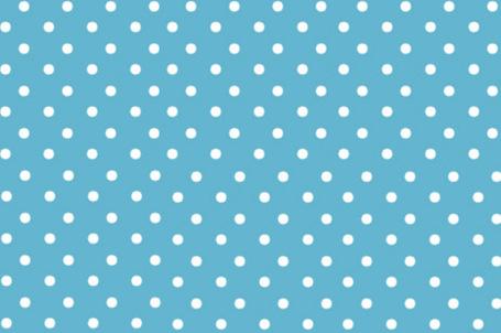 蓝白色圆点_中等