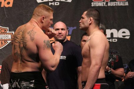 UFC 121 tickets for 'Lesnar vs...