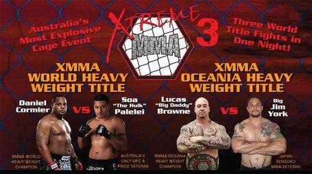 Xtreme MMA 3 – wyniki australijskiej gali MMA