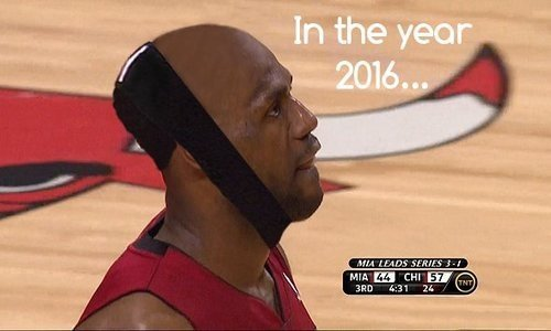 PHOTO: LeBron James' 2016 Hairline To Turn Headband Into