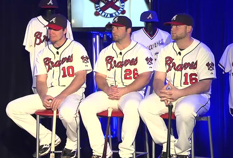 various colors b3525 685f8 PHOTO: New Atlanta Braves Alternate Uniforms, As Modeled By ...