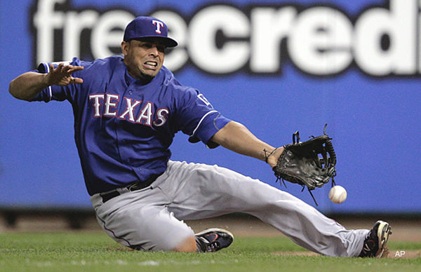 Washed Out: Rangers Drop Game 1 to Cards, 3-2 - Barking Carnival